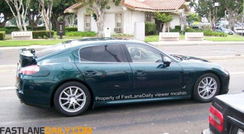 Porsche Panamera Car Shots