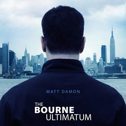 Bourne Ultimatum - Movie Poster