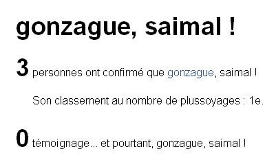 Gonzague saimal
