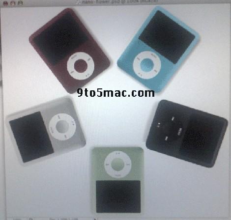 nouveaux iPod Nano