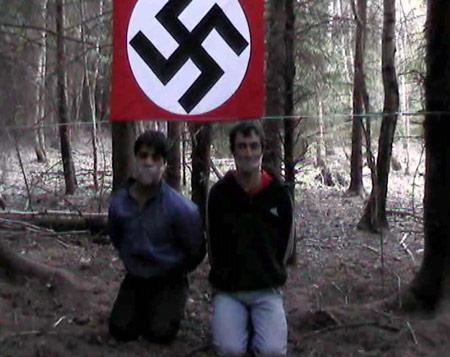 Capture de la vidéo Nazi filmée par les russes
