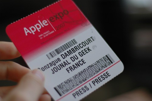 Apple Expo Badge
