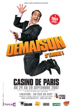 Affiche François-Xavier Demaison