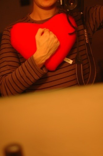 Tel est ton coeur (rouge)