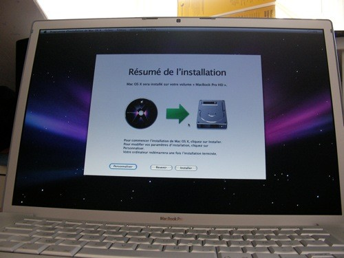 Leopard sur mon Macbook Pro