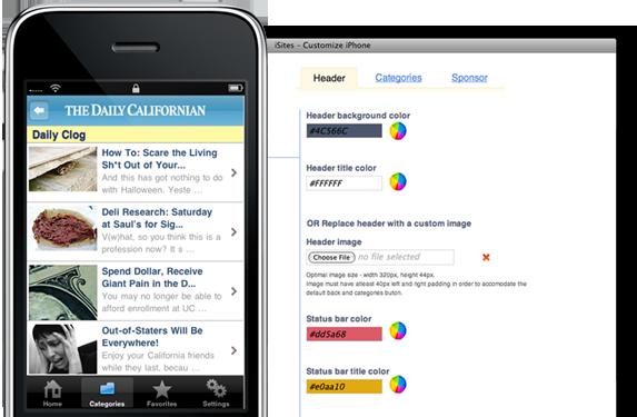 iSites - Faire une application iPhone en 10 minutes