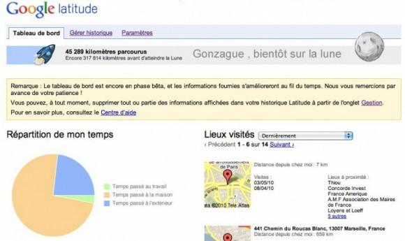 Image de Google Latitude Dashboard