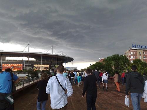 Va-t-il pleuvoir sur le stade de France