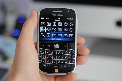 Test Blackberry Bold 9000