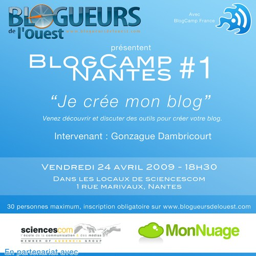 BlogCamp Nantes #1