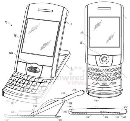 Un nouveau brevet Blackberry, un !