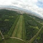 Drone depuis bois de Vincennes