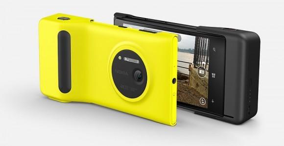 Nokia Lumia 1020 et grip