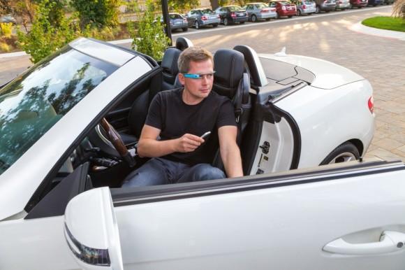 Google Glass et Mercedes Benz