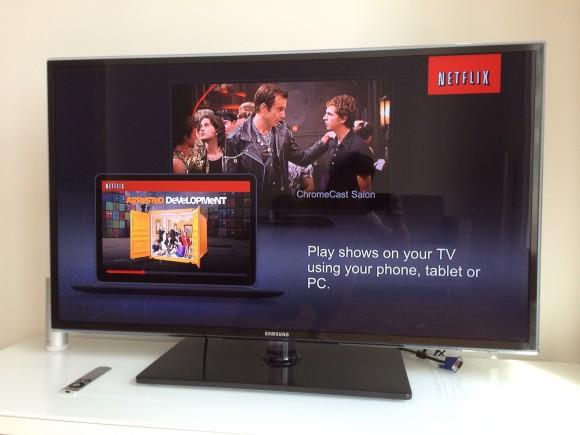 Netflix Chromecast France