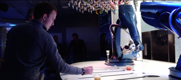 Bar robots - quantum of the seas