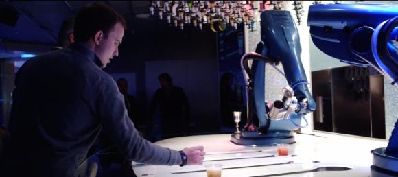 Bar robots - quantum of the seas