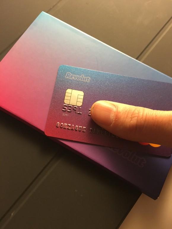 Carte bancaire Revolut