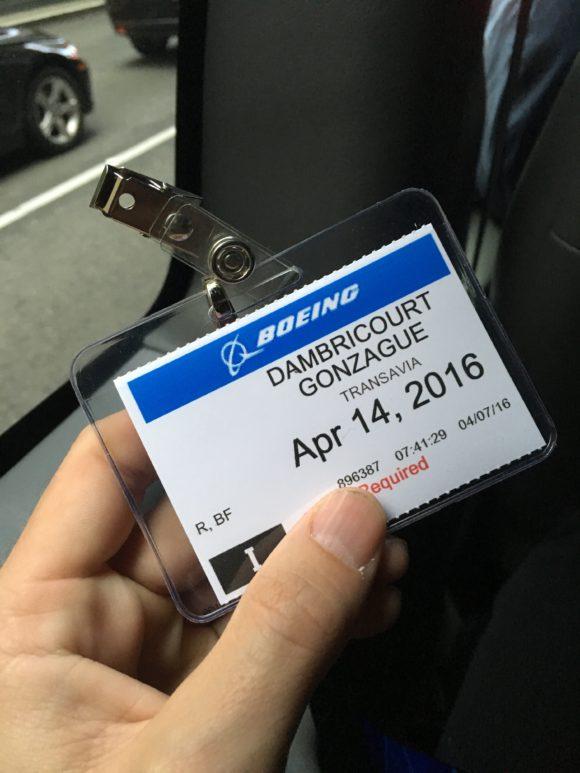 Badge Gonzague Boeing