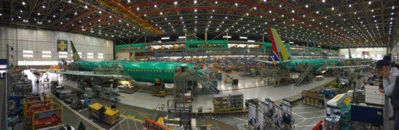 usine boeing 737 renton