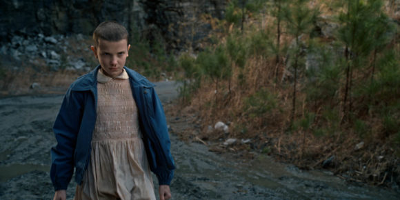 Stranger Things - L'actrice Millie Bobby Brown