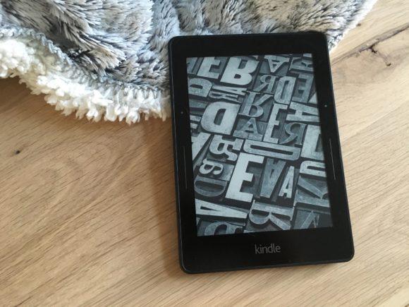 Kindle Voyage éteint