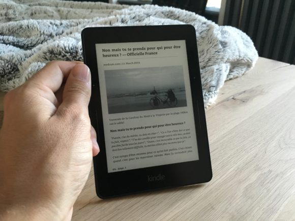 Kindle Voyage - Article
